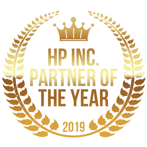 HP Inc. Partner of the Year award