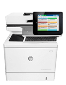 Workteam Printer: HP Color LaserJet Managed Flow MFP E57540c
